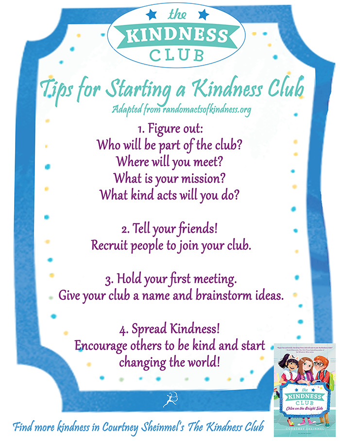 Tips for Starting a Kindness Club
